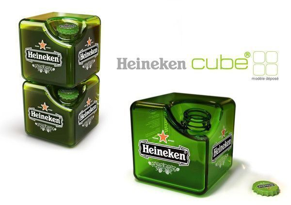 Packaging de Heineken Cube