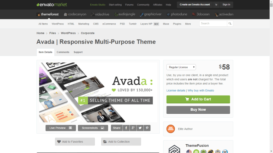 themeforest - mejores themes wordpress