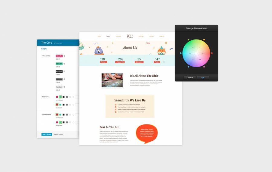 Mejor Plantilla Wordpress de ThemeFuse- The Core: 20+ en 1